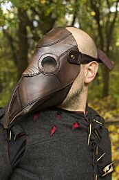 Plague Doctor Mask - Bruin, One-Size