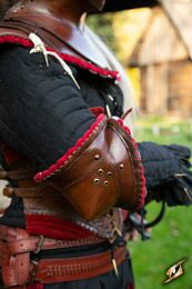 Noble Leather Couter - Donkerrood