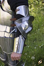 Gothic Arm Protection - P. Steel, M/L