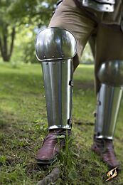 Enclosed Leg Protection - Polished Steel