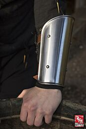 RFB Arm Protection - Polished Steel, M