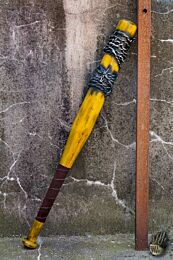 Barbed Wire Bat - 80 cm - Yellow