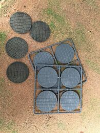 60mm Diameter Paved Bases