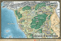 Storm Kings Thunder Map - Savage Frontier