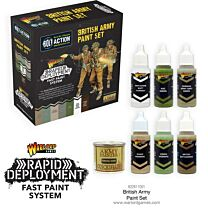 Bolt Action British Paint Set