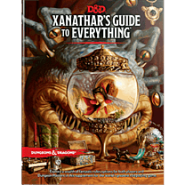 D&D RPG - Xanathar's Guide to Everything