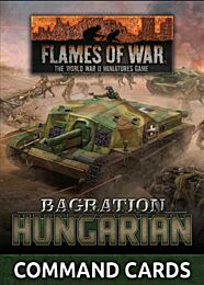 Hungarian Command Card Pack