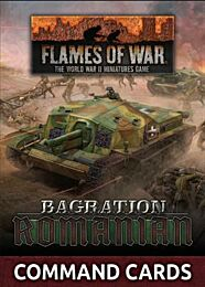 Romanian Command Card Pack - preorder, release juli 2021