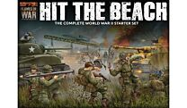Hit The Beach Army Set (German & American 11x Tanks, 2x Guns, 96x figs - Plastic)