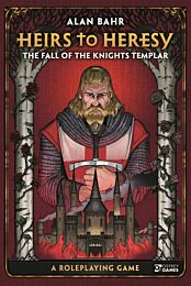 Heirs to Heresy - The Fall of the Knights Templar RPG - release oktober 2021