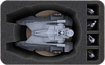 100mm Half-size tray voor Star Wars Legion: TX-130 Saber-Class Fighter Tank