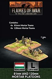 Hungarian 81mm and 120mm Mortar Platoons - preorder, release juli 2021
