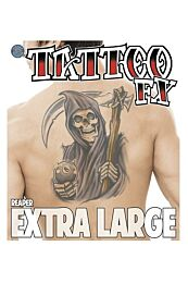 Extra Large Reaper Temporary Tattoo