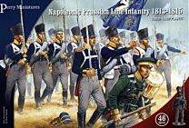 Napoleonic Prussian Line Infantry and Volunteer Jagers 1813-1815