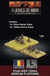 Romanian 81mm and 120mm Mortar Platoons - preorder, release juli 2021