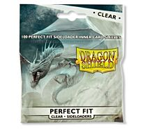 Standard Perfect Fit Sideloading Sleeves - Clear/Clear (100 Sleeves)