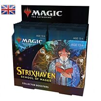 PRE ORDER: Strixhaven - School of Mages - Collector Boosterbox