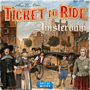 Ticket to Ride: Amsterdam (Engelse editie)