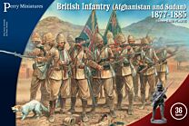 British Infantry in Afghanistan Sudan 1877-1885