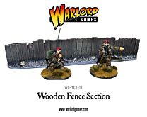 Wooden Fence Section