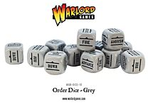 Bolt Action Order Dice - Grijs