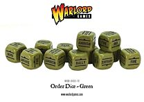 Bolt Action Order Dice - Groen
