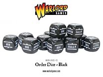 Bolt Action Order Dice - Zwart