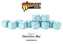 Bolt Action Order Dice - Blauw