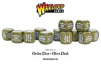 Bolt Action Order Dice - Olijfgroen