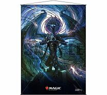 Stained Glass Wall Scroll Magic: The Gathering - Nicol Bolas