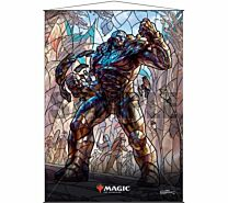 Stained Glass Wall Scroll Magic: The Gathering - Karn