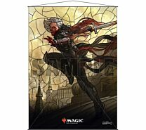 Stained Glass Wall Scroll Magic: The Gathering - Sorin