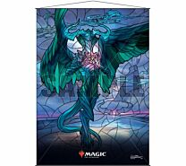 Stained Glass Wall Scroll Magic: The Gathering - Ugin