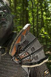 Orc Brute Shoulder Armour - Zwart