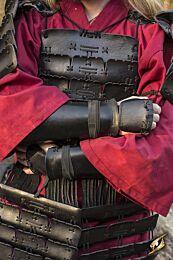 Samurai Bracers - Zwart, M