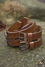 Twin Belt - Bruin, 120 cm