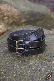 Twin Belt - Zwart, 120 cm