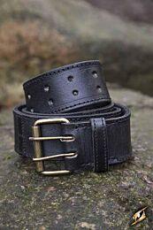 Ring Belt - Zwart, 120 cm
