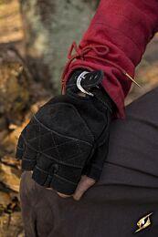 Celtic Gloves Suede - Epic Zwart