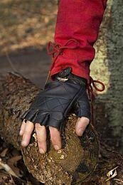 Celtic Gloves Leather - Epic Zwart