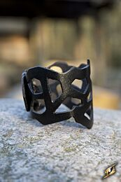 Filigree Bracelet- Zwart, 24 cm