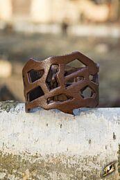 Filigree Bracelet - Bruin, 24 cm