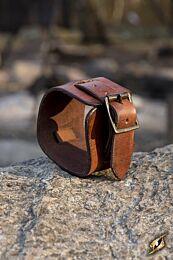 Cuff Bracelet - Bruin, 20 cm
