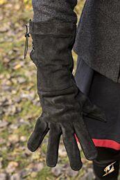 Leather Gloves - Zwart