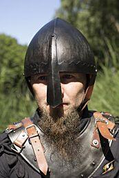 Norman Nasal Helmet - Epic Dark