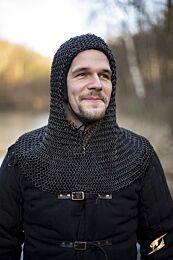 Chainmail Hood - Alaric - Epic Zwart