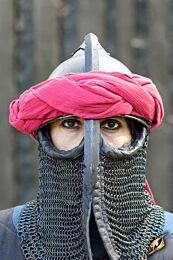 Persian Head Band - Donkerrood