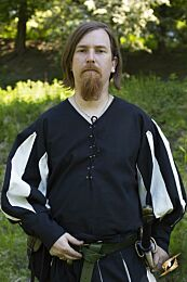 Landsknecht Shirt - Epic Zwart/Gebroken Wit