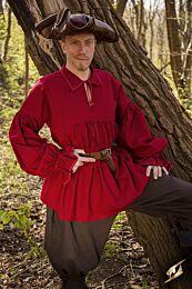 SALE Shirt Aramis - Donkerrood, M/L