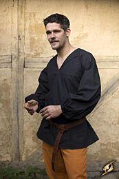 SALE Shirt Godfrey - Epic Zwart, SMALL